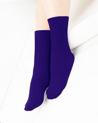 Purple Womens Socks   We Love Colors