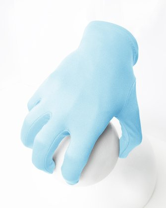 3405 Aqua Solid Color Wrist Gloves