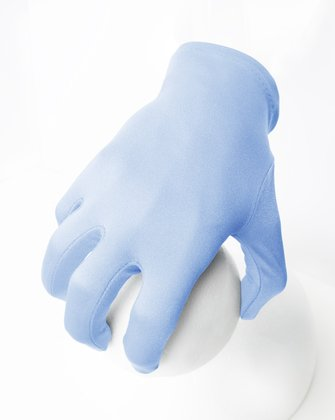 3405 Solid Color Baby Blue Wrist Gloves