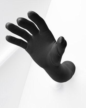 3407 Solid Color Charcoal Long Opera Gloves
