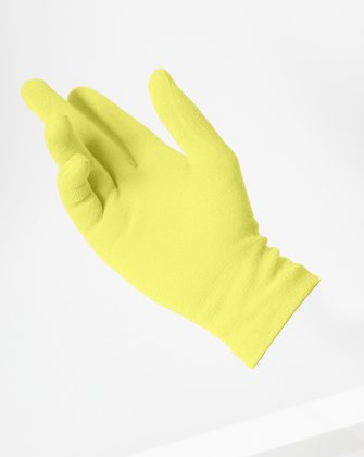 3601 Maize Short Matte Knitted Seamless Gloves