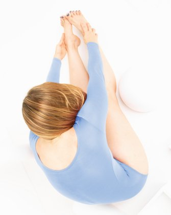 5002 W Baby Blue Leotard