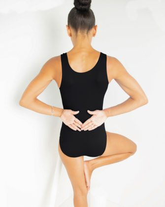 5006 W Black Leotard