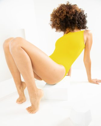 5006 W Yellow Leotard