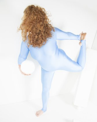 5009 Baby Blue Dance Unitard