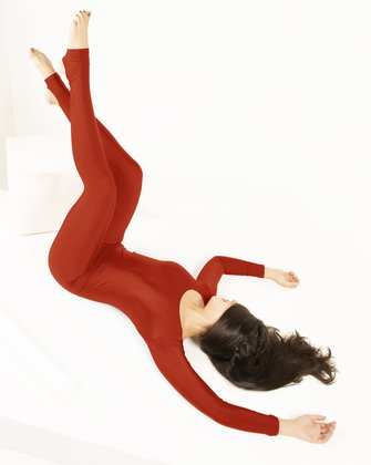5009 Rust Dance Unitard