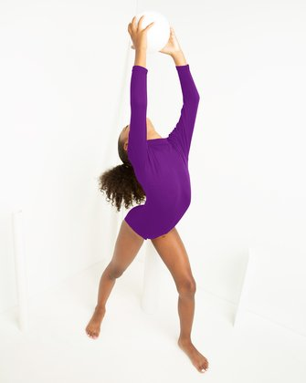 5078 Amethyst Kids Turtleneck Leotard