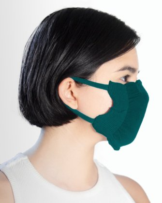 8021 Hunter Green Face Mask Cover