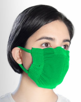 8021 Kellygreen Face Mask Cover
