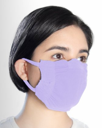 8021 Lilac Face Mask Cover