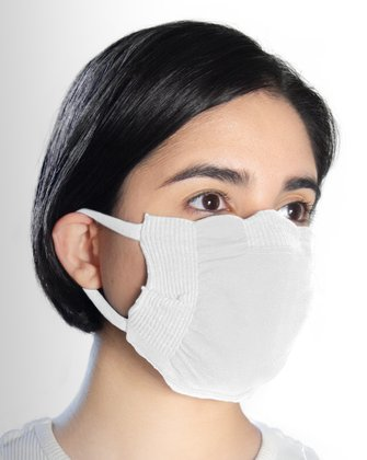 8021 White Face Mask