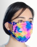8021 7411 Splash Color Face Mask Cover