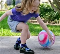 Splash Color Nylon Kids Socks