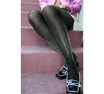 Lurex Glitter Tights :  legwear sexy tights funky tghts glitter tights