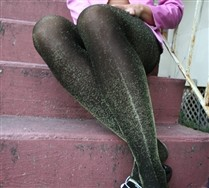 Lurex Glitter Tights