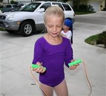 Kids Long Sleeve Scoop Neck Leotard