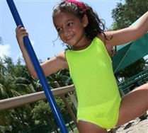 Colorful Tank Kids Leotard