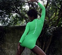 SALE!!! Turtle Neck Leotard and Hosiery