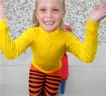Kids Turtle Neck Leotard