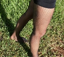 Lurex Glitter Fishnets