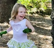 Solid Color Nylon Kids Gloves