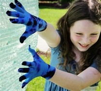 Splash Color Kids Gloves