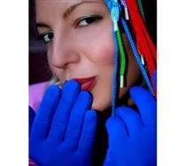 Solid Color Wrist Gloves