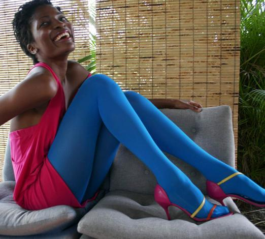 Nylon/Lycra Microfiber Tights - Solid Colors