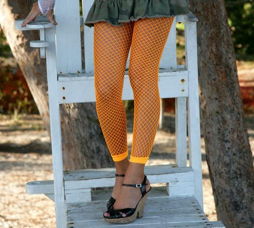 927bab0fa8f Footless Fishnets Leggings