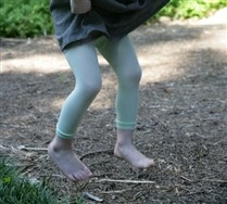 Colored Kids MicroFiber Footless Tights