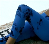 SALE !! Splash Color Leggings and Hosiery