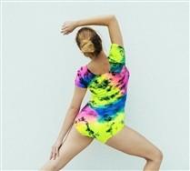 Splash Colors Short Sleeve Bodysuit