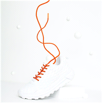 Colored Pair of Solid Color Round Laces