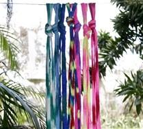Splash Color Round Laces