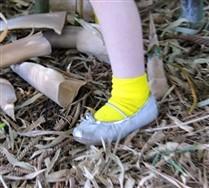 Solid Color Nylon Kids Socks