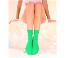 Solid Color Nylon Socks