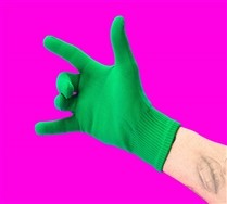 Solid Color Nylon Gloves